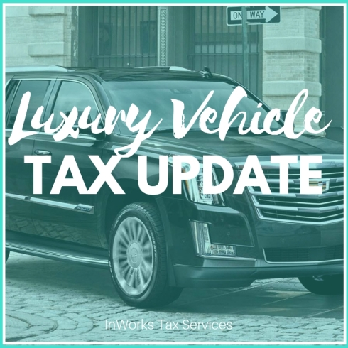 Luxury Automobile Tax Law Update Inworks Tax